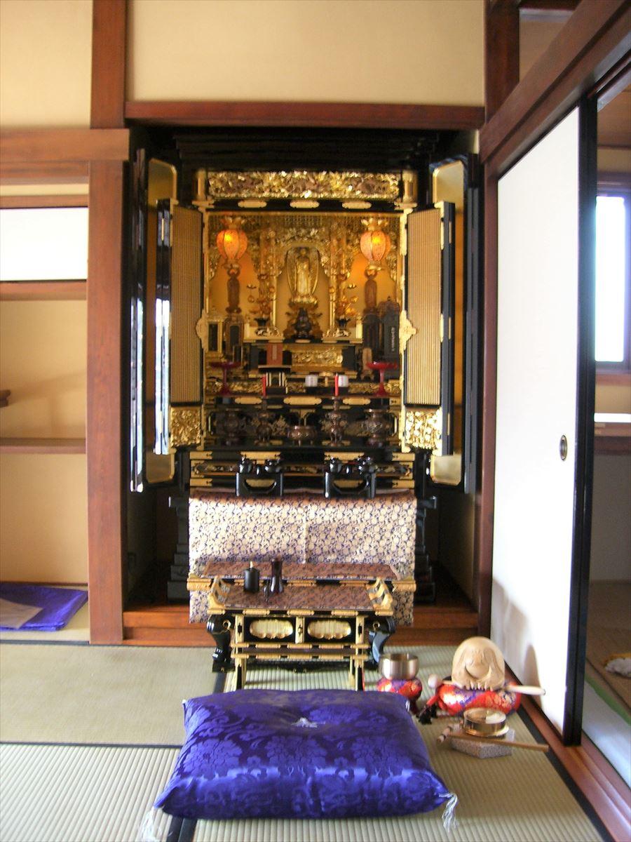 仏壇の設置例