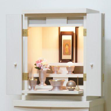 白い仏壇 ベニスホワイト16.5号