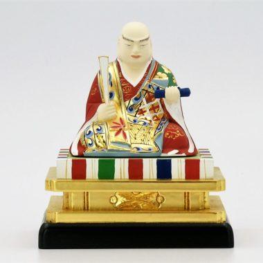 仏像 日蓮上人1.5寸 木製 彩色
