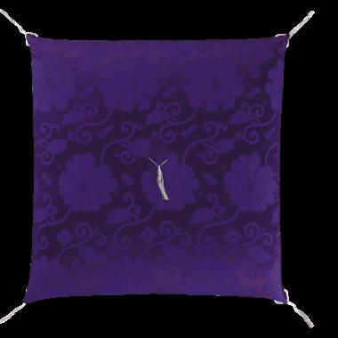 仏前座布団  カロヤンドンス 紫