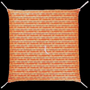 仏前座布団  古代横縞